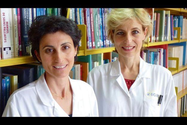 Dr Christina Mateus et le Dr Caroline Robert