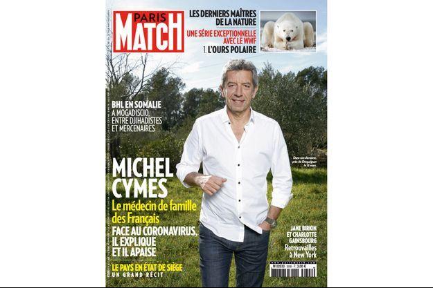 La couverture du numéro 3699 de Paris Match.
