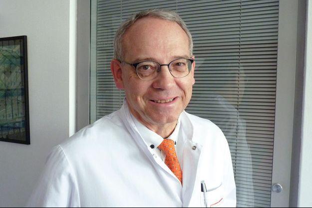Le Pr Thierry Conroy oncologue médical à l'Institut de cancérologie de Lorraine à Nancy, membre d'Unicancer.