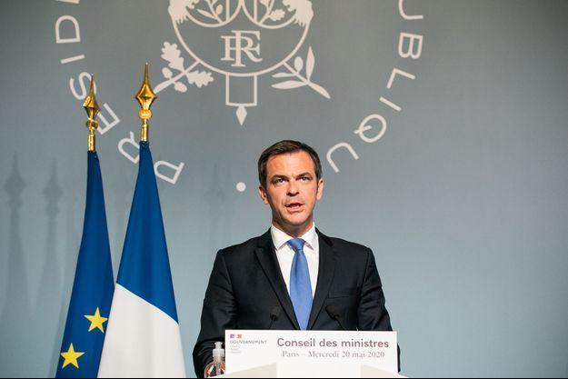 Olivier Véran à Paris le 20 mai 2020