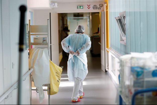 À l'hôpital à Vannes, le 12 octobre.
