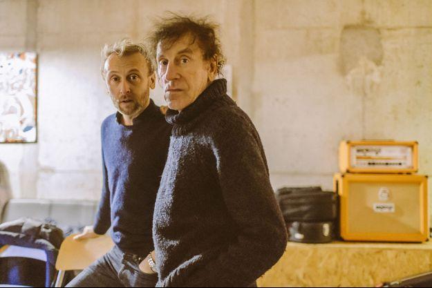 Pierre et Alain Souchon
