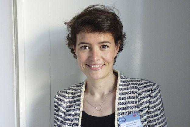 Marie-Laure Deblic, opticienne spécialiste pour enfants.