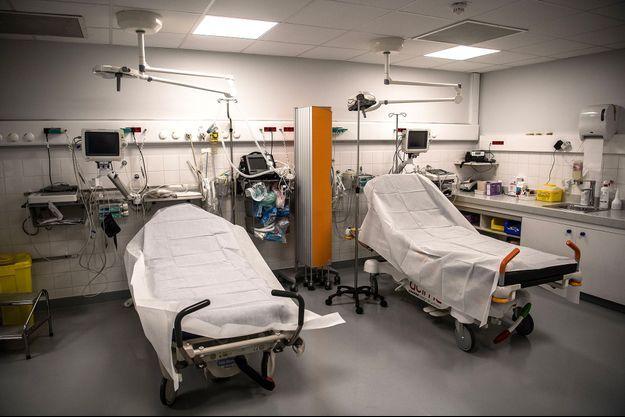 Illustration d'un lit d'hôpital.