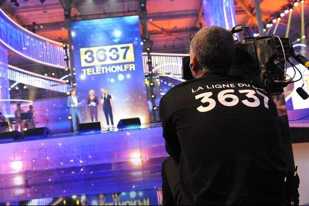 Lors du Téléthon 2017 au Pavillon Baltard (photo d'illustration).