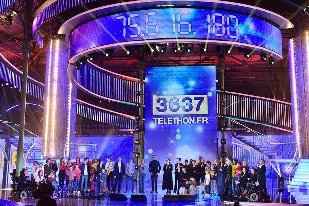 Le plateau du Téléthon 2017.