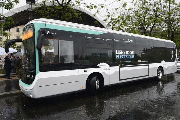 Illustration d'un bus de la RATP.