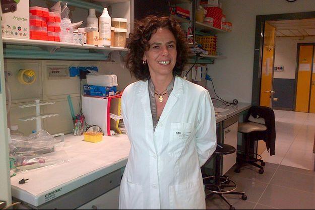 Chiara Bonini, hématologue, vice-directrice de la division d'immunologie de l'Hopital San Raffaele de Milan.