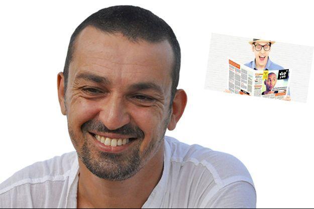 Sébastien Béziau, blogueur et vapoteur militant.