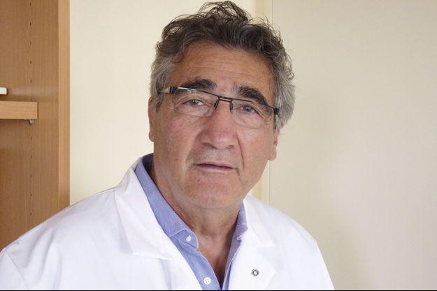 Le Pr Gérald Simonneau, chef du service de pneumologie à l'hôpital Bicêtre.