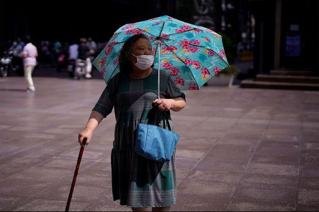 Une femme Shanghai. Image d'illustration.