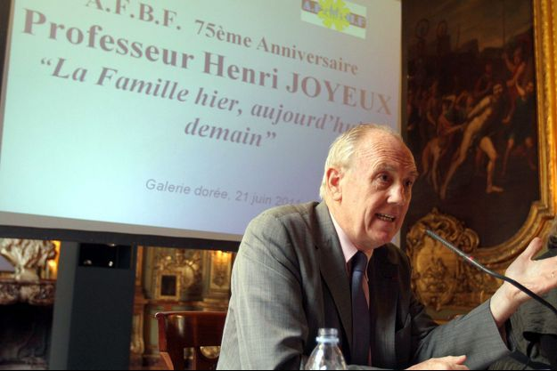 Le professeur Henri Joyeux
