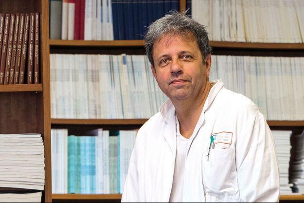Xavier Capdevila, chef du département d'Anesthésie–Réanimation au CHU de Montpellier.