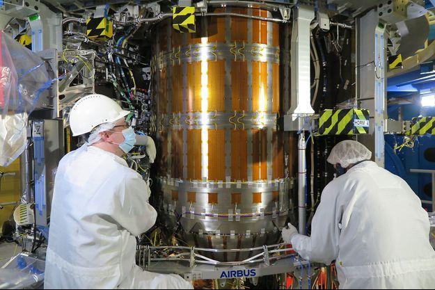 Un module de service pour la capsule Orion.