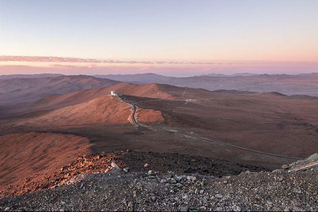 Le désert d'Atacama.