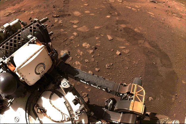 Perseverance sur Mars, le 4 mars dernier.