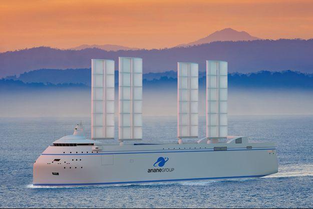Longe de 121 mètres, Canopée peut porter 5000 tonnes.