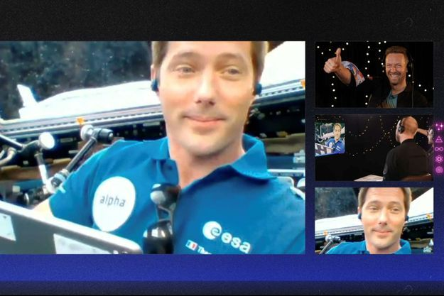 Thomas Pesquet et Coldplay ont échanté depuis la Terre et l'ISS.