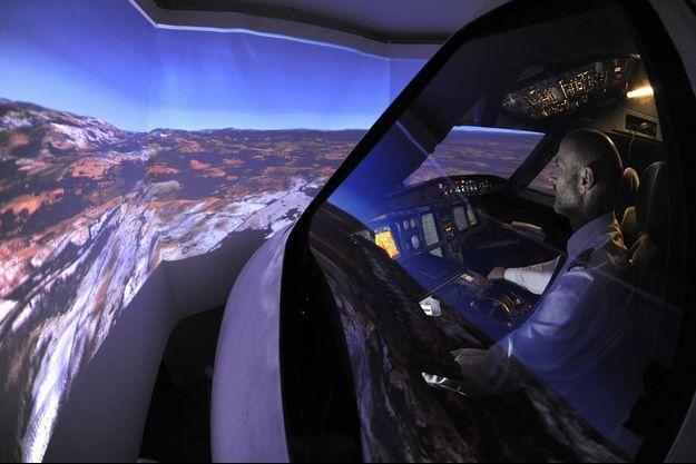 Un simulateur de vol