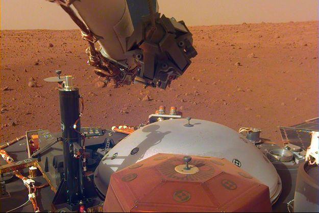 InSight sur Mars.