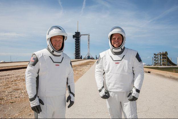 Douglas G. Hurley et Robert L. Behnken
