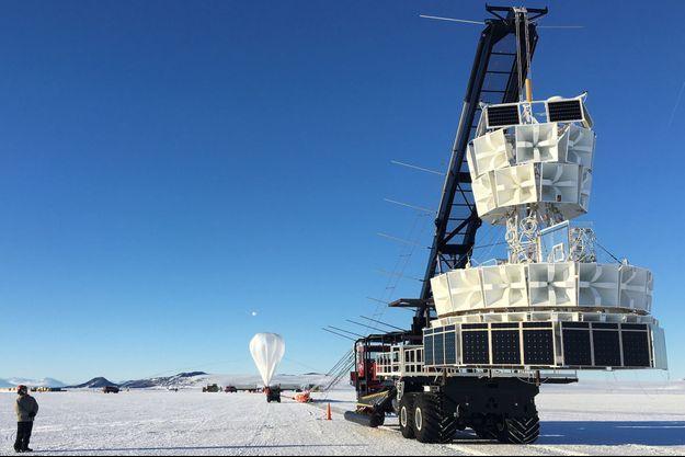 L'Antarctic Impulsive Transient Antenna (Anita), le dispositif qui a peut-être permis de prouver l'existence d'un monde parallèle.