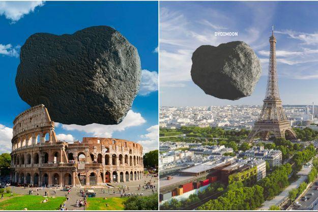 La Nasa veut entrer en collision avec un astéroïde de 780m de diamètre autour duquel orbite une lune de 160m.