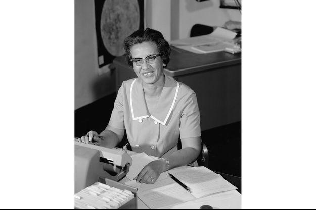Katherine G. Johnson en 1966 à Hampton.