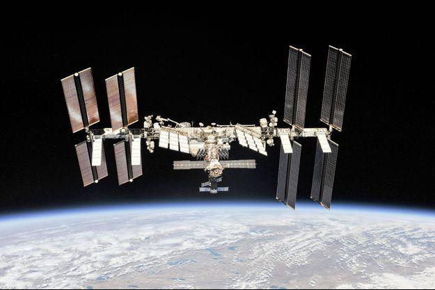 La station spatiale internationale.