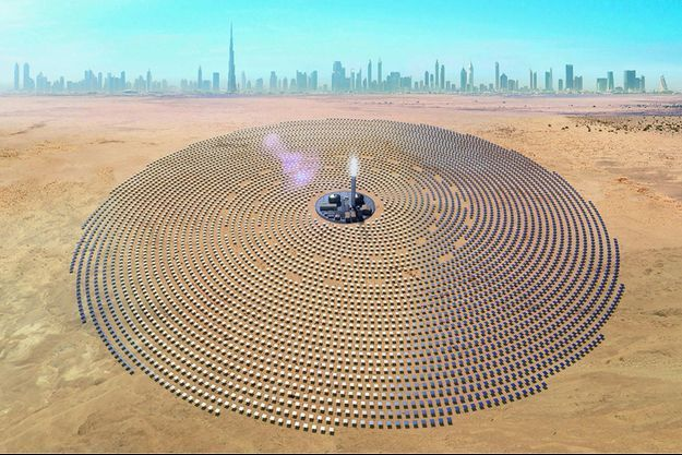 La plus grande centrale solaire du monde à DubaÏ