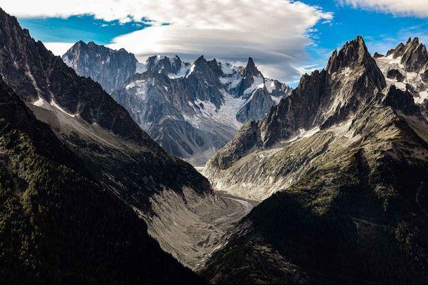 Le glacier du Mont Blanc (image d'illustration).