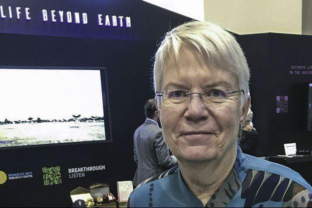 Jill Tarter, pionnière de la recherche de signaux venant de lointaines galaxies.