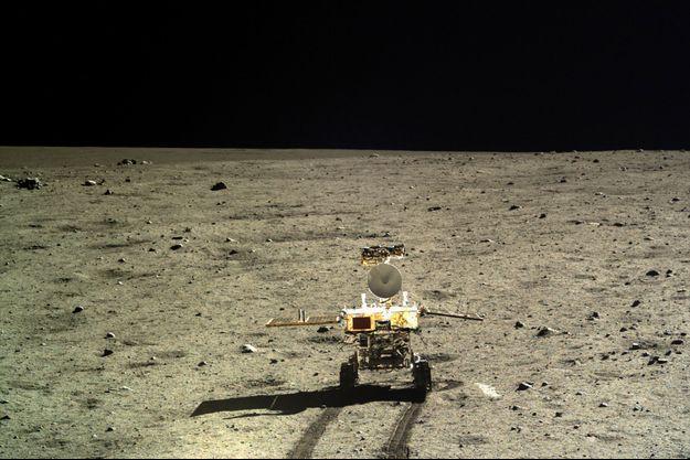 Le rover Yutu sur la Lune