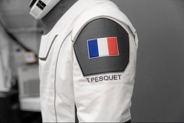 La combinaison de Thomas Pesquet.