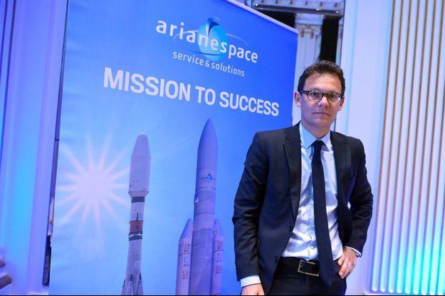 Stéphane Israël, patron d'Arianespace.