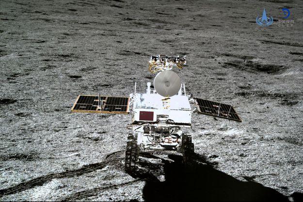 Le robot chinois Yutu-2 sur la Lune.