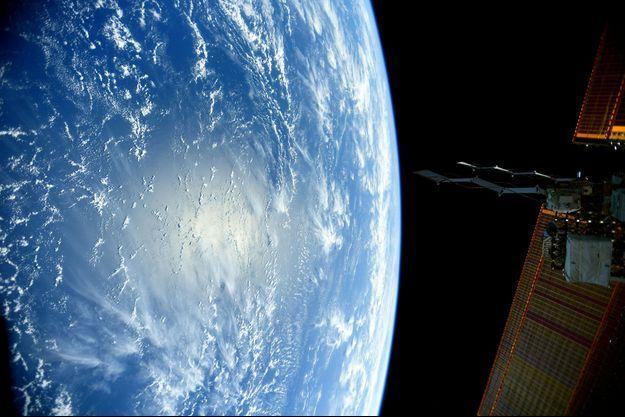 Un océan depuis l'ISS.