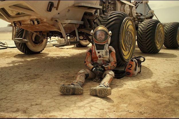 "Matt Damon dans ""The Martian"""