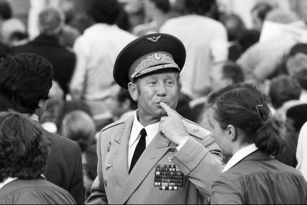 Alexeï Leonov en 1986.