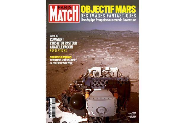 La couverture du numéro 3747 de Paris Match