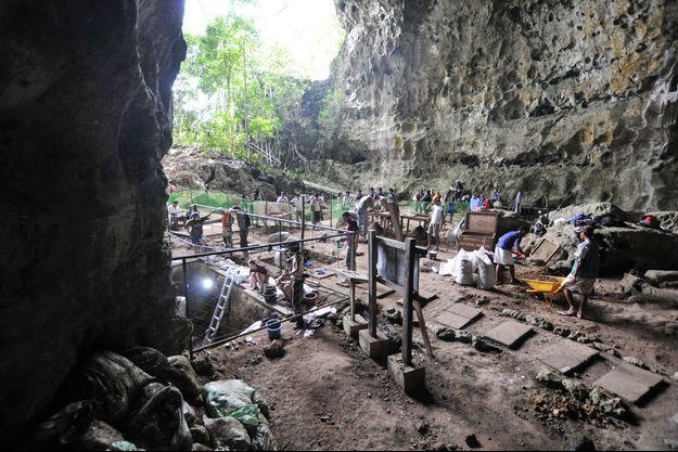 Une photo prise en août 2011, sur l'île de Luçon, où a été découvert Homo luzonensis.