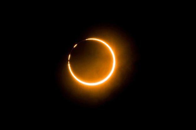 Une éclipse solaire.