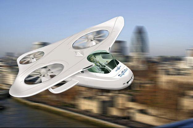 Coût d'un gyrocoptère, 6 000 euros. Autonomie, 100 kilomètres. Vitesse de pointe, de 180 à 200 km/h.