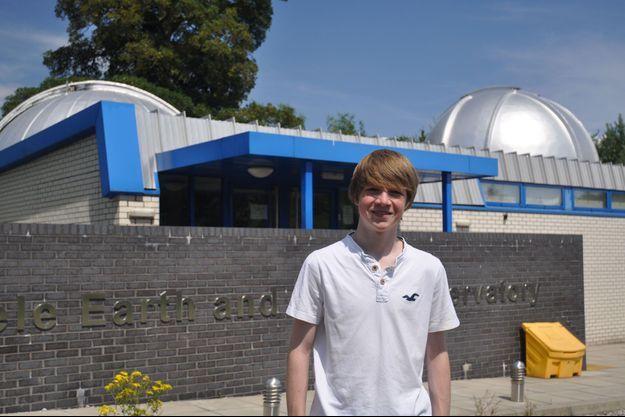 Tom Wagg, âgé de 15 ans.
