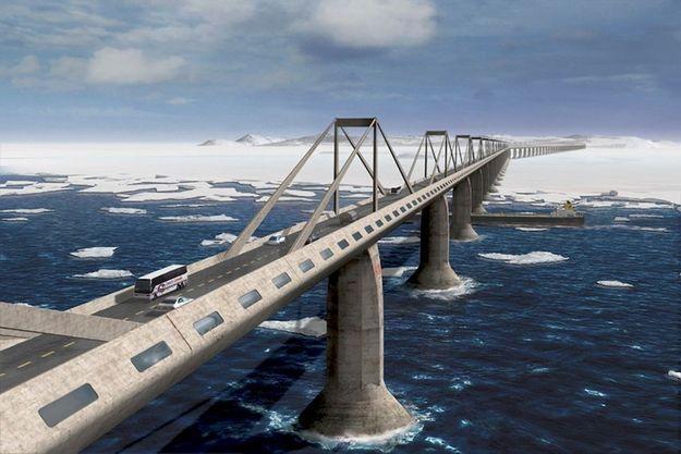 Le Trans-Eurasian Belt Development (TEPR), projet d'autoroute de Paris à New York