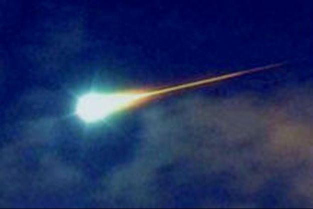 Illustration d'un météore.