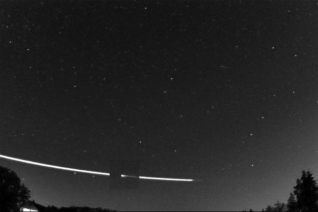 La météorite a survolé le nord de l'Allemagne et des Pays-Bas, le 22 septembre dernier.