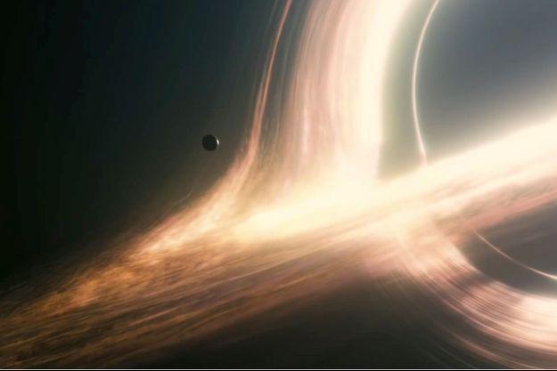 La représentation du trou noir Gargantua dans « Interstellar »