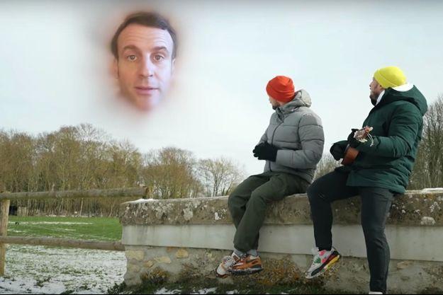 """Mcfly et Carlito dans le clip """"Je me souviens""""."""