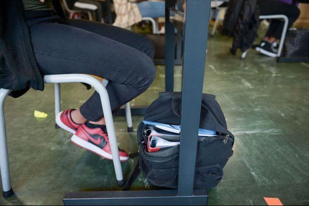 Dans un lycée en Seine-Saint-Denis (image d'illustration).